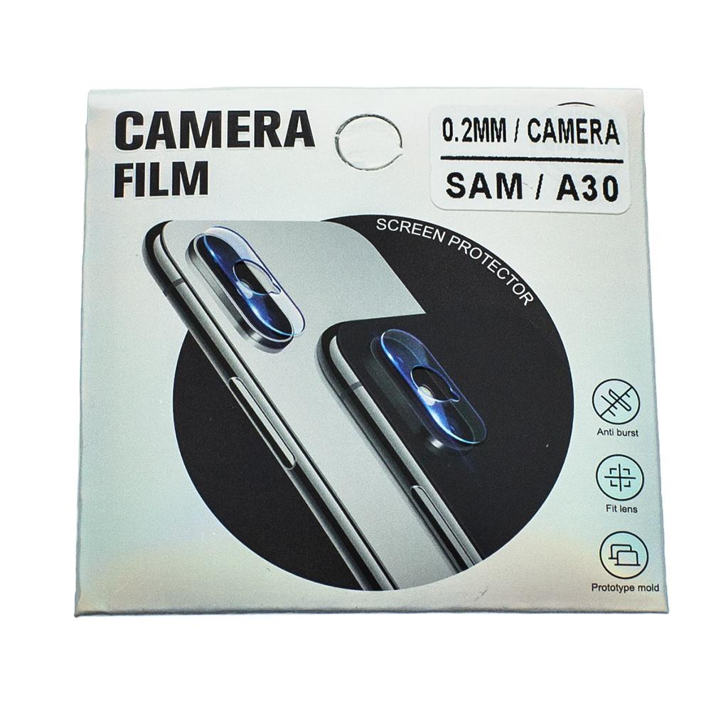 Защитное стекло Wsfive для камеры Samsung Galaxy A30 2019 A305 Прозрачный (00007181)
