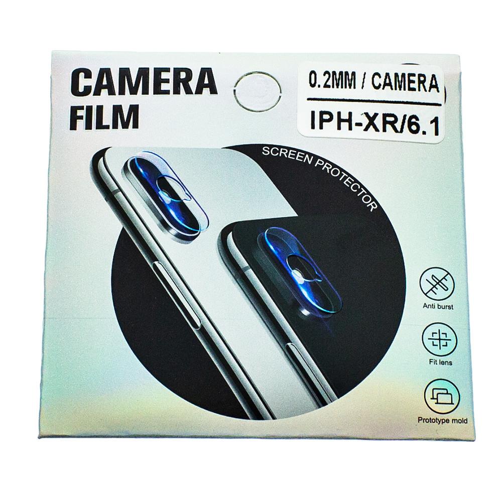 Защитное стекло Wsfive для камеры Apple iPhone XR Прозрачный (00007177)