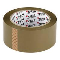 Лента Axent клейкая упаковочная 48мм * 100ярд, 45мкм коричневая