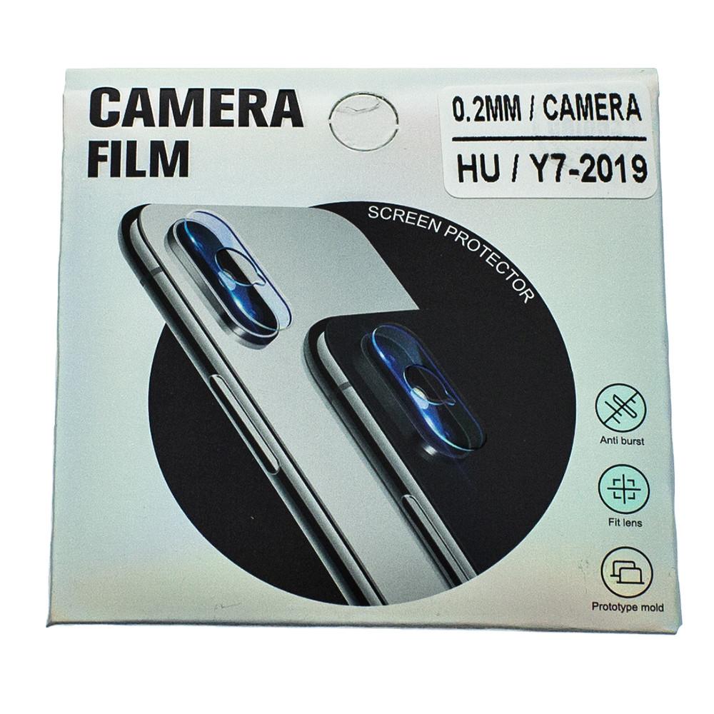 Защитное стекло Wsfive для камеры Huawei Y7 2019 DUB-LX1/ DUB-LX3 Прозрачный (00007171)