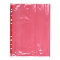 Файл Axent А4 +, глянцевый, 40мкм (100 шт.) Красный  2004-24-A