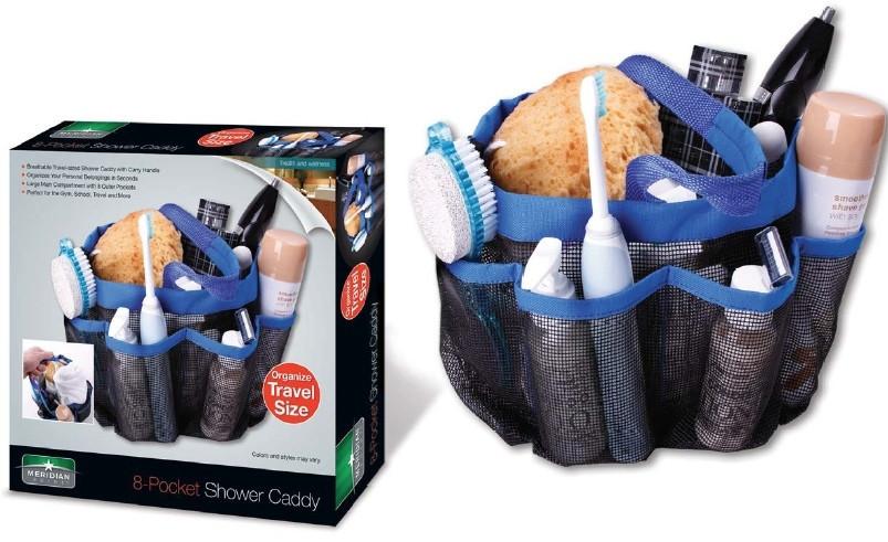 Органайзер для ванної Shower Caddy 8-pocket
