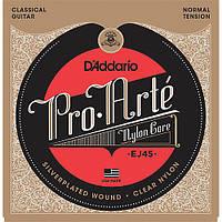 Струны для классической гитары D`addario EJ45 28-43 pro-arte normal tension