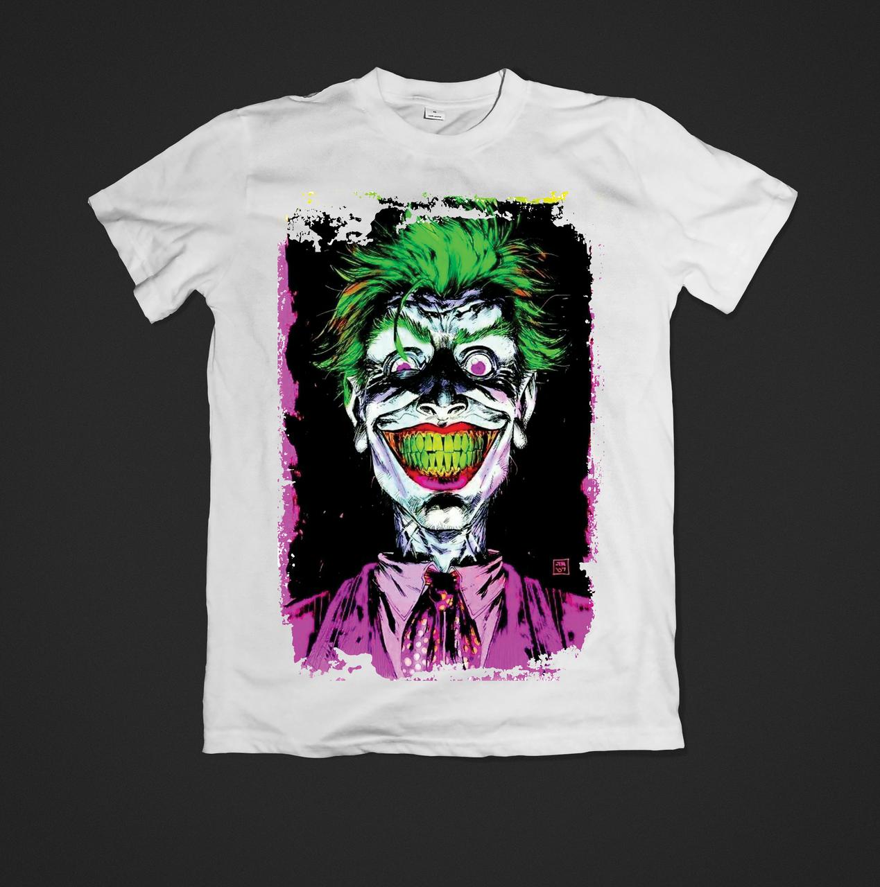 Футболка чоловіча з принтом Joker