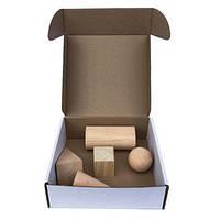 Набір моделей геометричних тіл (дерев'яні)
