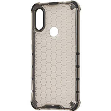 Ударопрочный чехол Epik Honeycomb для Xiaomi Redmi 7 Черный (715229)