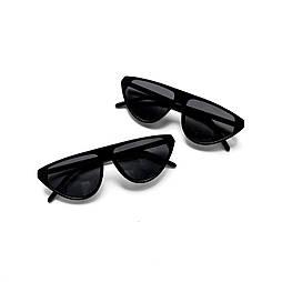 Имиджевые очки со срезом/матовая оправа vN7898