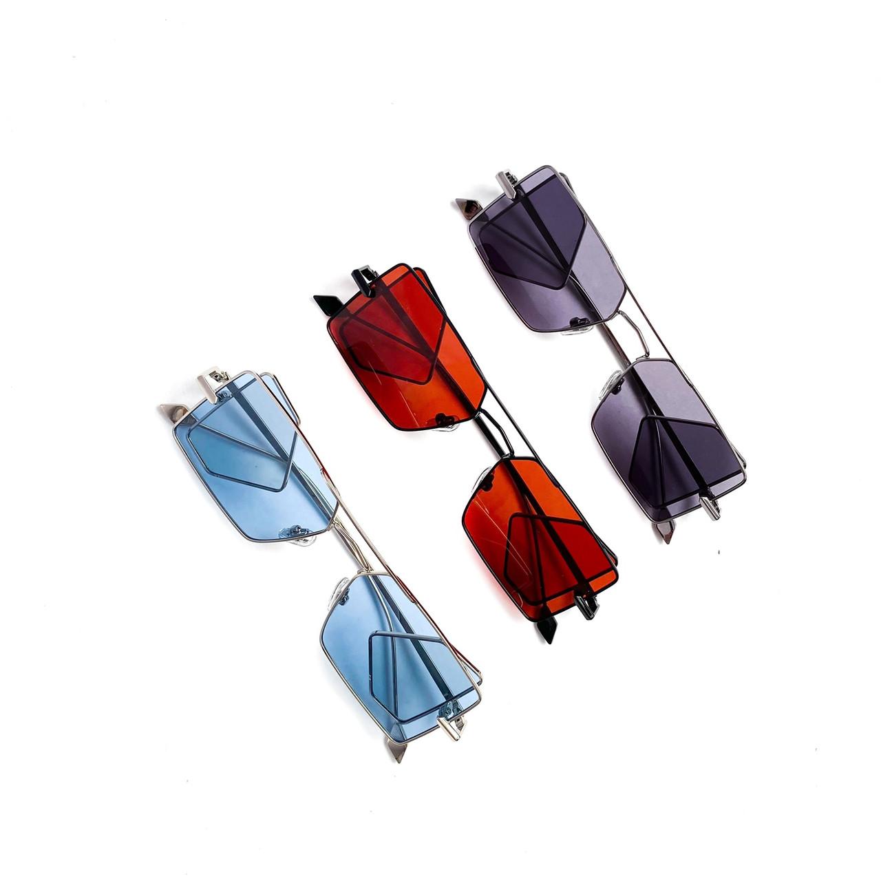 Имиджевые очки многоугольные Polaroid vN7905