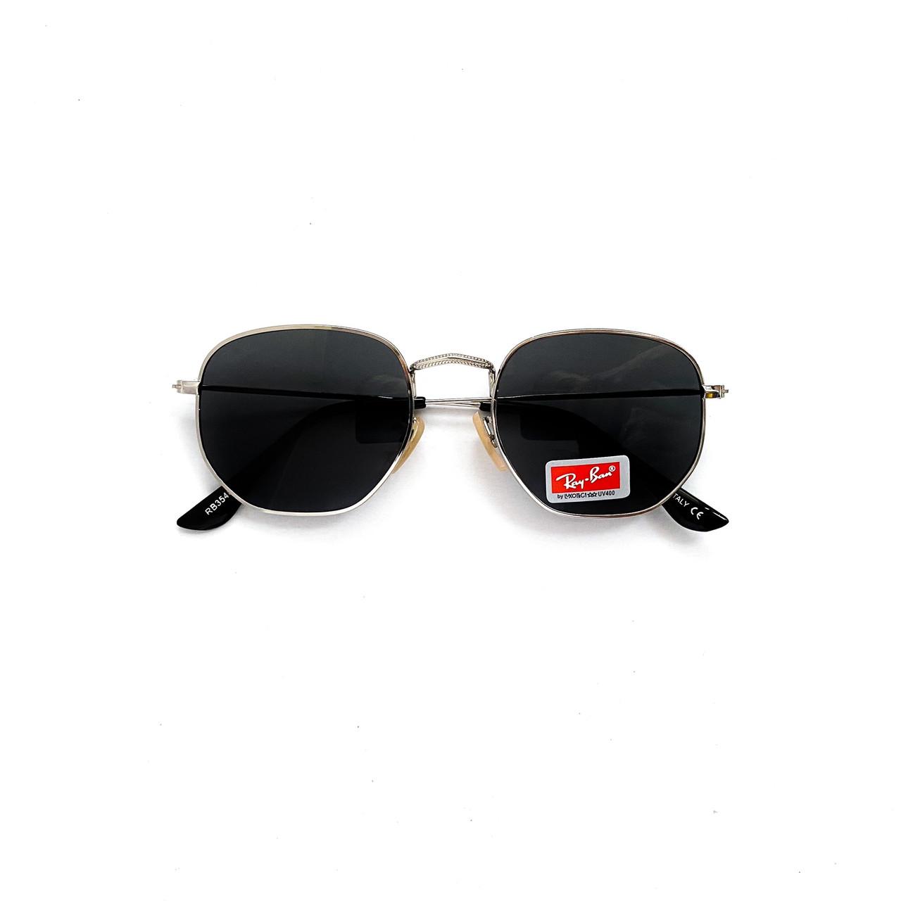 Солнцезащитные очки Ray Ban черные многоугольные vN7934