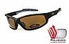 Спортивные солнечные очки POLARIZED Daytona-3 коричневые