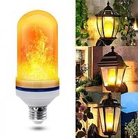 Лампа LED Flame Bulb с эффектом пламени огня E27, фото 1