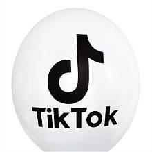 Воздушный шар Tik tok 30см