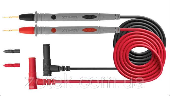 ANENG PT1031 щупи для мультиметра 20А Силіконові дроти з голкою