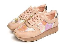 Кроссовки женские Serena 38 Розовые (LH10)
