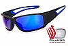 Солнцезащитные спортивные очки Рolarized Intersect-2 зеркальные синие