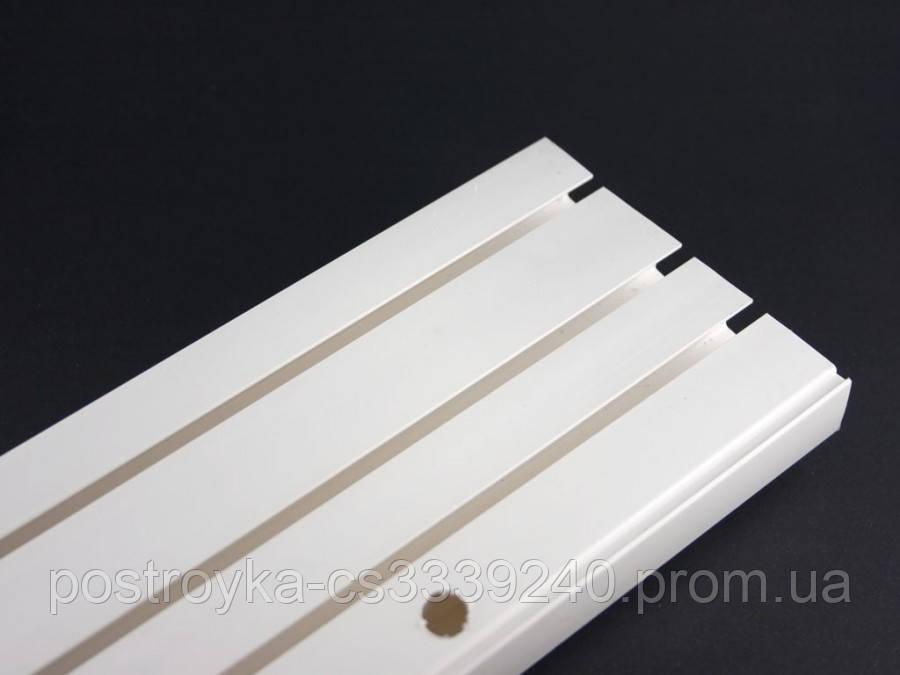 Карниз потолочный КСМ трехрядный усиленный 2,10 метра