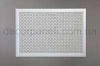 "Решетка для батареи ""Стандарт"", 68 см х 128 см, цвет белый"