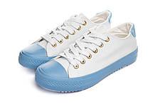 Кеди жіночі Keds 38 р White blue (DC7-3ew834)