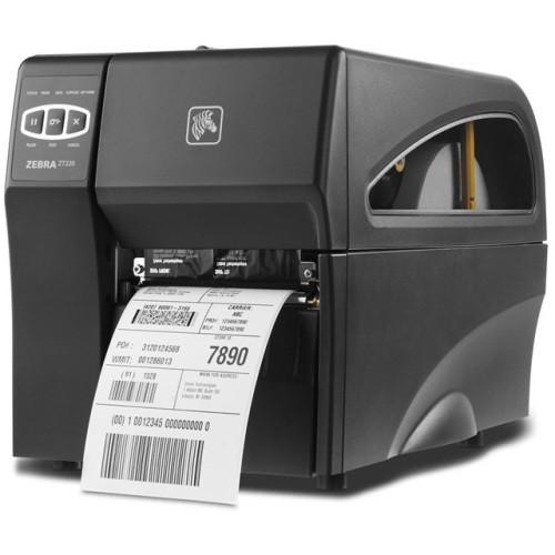 Напівпромисловий принтер етикеток Zebra ZT220