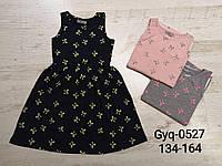Платье на девочку оптом, Glo-story, 134-164 см,  № GYQ-0527
