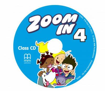 Zoom in 4 Class Audio CD