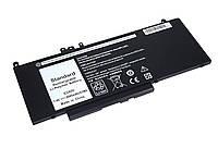 Аккумуляторная батарея для ноутбука Dell G5M10 Latitude E5450 7.4V Black 6900mAh OEM
