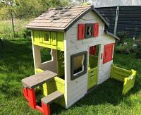 Игровой дом для друзей c чердаком и дверным звонком Smoby Франция (310209)
