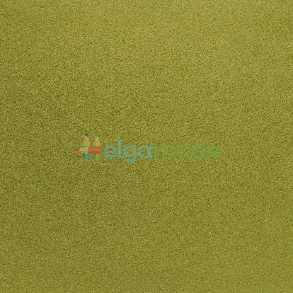 Фетр американский МОХ, 15x23 см, 1.3 мм, полушерстяной мягкий