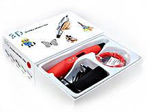 """Набор """"SmartPen RP400A/200A DeLuxe"""" c красной 3D ручкой, фото 2"""