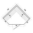 Инфракрасная сауна SunRays Corner Duos (тип1), фото 6