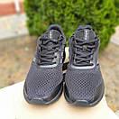 Мужские кроссовки в стиле Adidas Nova Run X  чёрные, фото 3