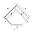 Инфракрасная сауна SunRays Corner Duos (тип3), фото 5