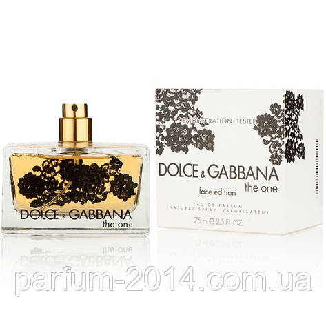 Женская туалетная вода Dolce & Gabbana The One Lace Edition tester (реплика), фото 2