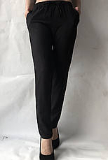 Летние брюки (супер софт, диагональка) , №19 Чёрный, фото 2