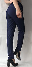 Летние брюки (супер софт, диагональка) , №19 темн. синий, фото 3
