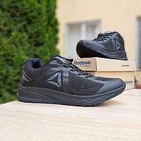 Мужские кроссовки в стиле Reebok Harmony Road 3 чёрные