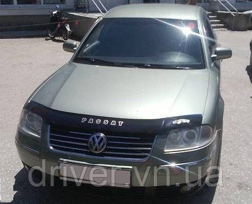 Дефлектор капота (мухобойка) Volkswagen Passat (B5+) 2001-2005 /рестайлінг