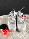 Мужские кроссовки Nike Air Force 1 Low Off-White, мужские кроссовки найк аир форс 1 лов офф вайт, фото 3