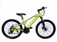 """Спортивный велосипед Unicorn - Brisk,  Колеса 24"""",Рама 15"""",  Хроммолибден"""