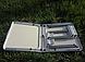 Стол складной для пикника  4 стула, + зонт 170 см Коричневый, фото 8