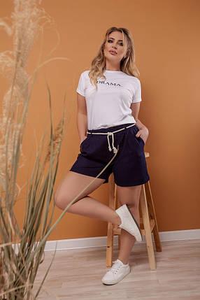 Льняные шорты, фото 2