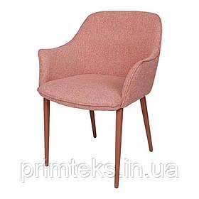 Кресло MILTON (Милтон) текстиль терракот