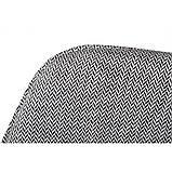 Кресло MILTON (Милтон) рогожка черно-белый, фото 2