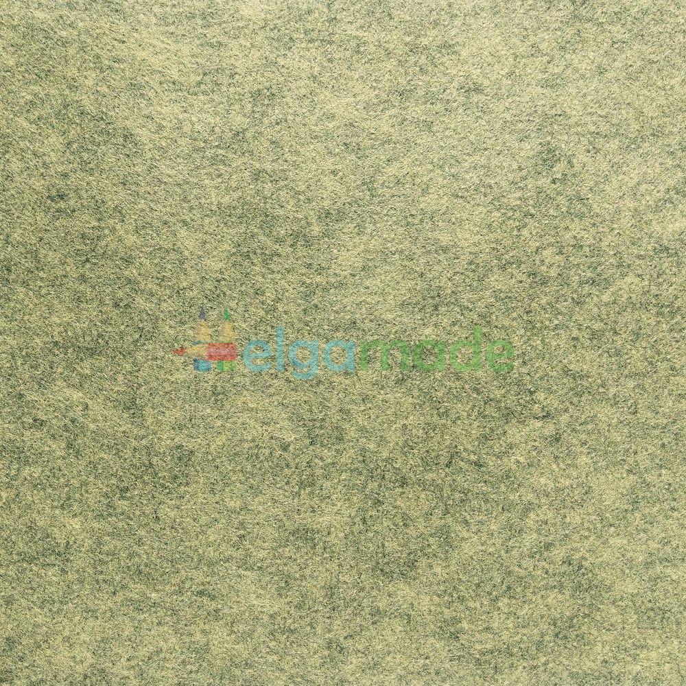 Фетр американский КАМУФЛЯЖ меланж, 31x46 см, 1.3 мм, полушерстяной мягкий