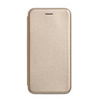 Чехол книжка для Xiaomi Redmi 6A (золотой)