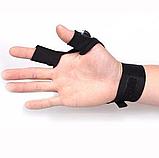 Перчатка с подсветкой на пальцах Hands Free / Led перчатка, фото 3