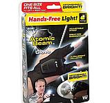 Перчатка с подсветкой на пальцах Hands Free / Led перчатка, фото 7