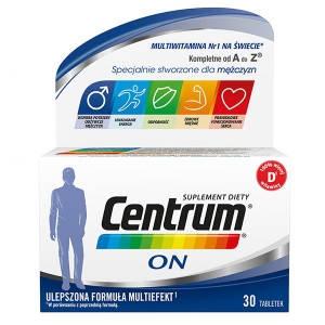 Phizer Centrum ON, multiefekt, 30 Витамины для мужчин, 30 табл
