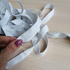 Резинка белая диаметр 1.5 см.