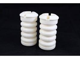 Відбійники передніх стійок LADA 1118/1119 (2шт) оригінал поліуретан білий серія PROFI CS-20